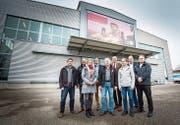 Das neue Führungsteam von Nüssli arbeitet an der Sanierung. (Bild: Andrea Stalder (Hüttwilen, 1. Februar 2019))