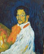 Das Selbstporträt Picassos. (Bild: Privatsammlung)