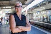 SBB-Managerin Jeannine Pilloud steht vor einem Wechsel zum Migros-Genossenschaft-Bund. (Bild: Cyril Zingaro/Keystone (Lausanne, 16. August 2016))