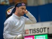 Max Heinzer wird zum dritten aufeinanderfolgenden Mal Zehnter im Degen-Weltcup (Bild: KEYSTONE/MARCEL BIERI)