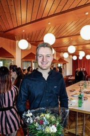 Neugewählter Gemeinderat in Bichelsee-Balterswil: Der 21-jährige Janik Bosshard. (Bild: Chistoph Heer)