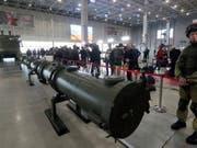 Russland soll laut einem Zeitungsbericht mehr Marschflugkörper des Mittelstreckensystems SSC-8 haben als bisher bekannt. (Bild: KEYSTONE/EPA/SERGEI CHIRIKOV)