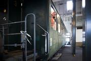 Der Verein Historische Seetalbahn will zwei historische Bahnwagen restaurieren. Im Bild der Vereinspräsident Marcel Anderhub. (Bild: Manuela Jans-Koch, Hochdorf, 10. Februar 2019)