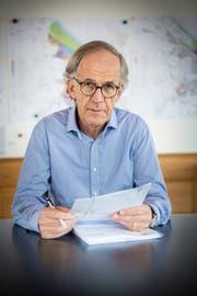 Polit-Urgestein Peter Gubser (SP) ist in der nächsten Legislatur nicht mehr teil des Stadtrats. Bild: Andrea Stalder