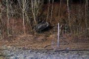 Das Auto hat sich möglicherweise mehrmals überschlagen. (Bilder: Kapo)
