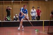 Der Luzerner Lorenz Huber blickt trotz zwei bitterer Niederlagen zuversichtlich den Playoff-Viertelfinals gegen Bülach entgegen. Bild: Manuela Jans-Koch (Meggen, 9. Februar 2019)