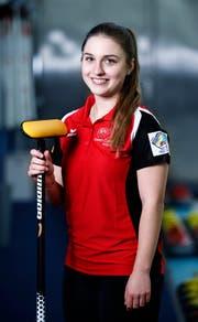 Selina Witschonke (20) aus Sempach. (Bild: Stefan Kaiser, Zug, 7. Februar 2019)