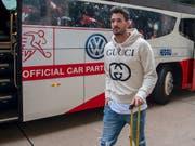 Roman Bürki lobt die langjährige Zusammenarbeit mit seinem persönlichen Mentalcoach (Bild: KEYSTONE/MELANIE DUCHENE)