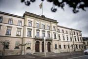 Das Thurgauer Regierungsgebäude in Frauenfeld. (Bild: Reto Martin)