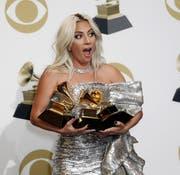 Drei Grammys gehen an Lady Gaga. (Bild: EPA)