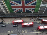 Die britische Wirtschaft ist langsamer gewachsen. (Bild: KEYSTONE/EPA/FACUNDO ARRIZABALAGA)