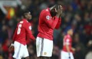 Romelu Lukaku steht bei acht Toren nach 23 Spielen in der Premier League. (Bild: AP)