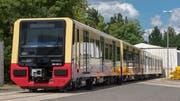 Ein Zug für die Berliner S-Bahn, gemeinsam entwickelt von Stadler und Siemens. (Bilder: PD)
