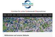 Die Website des «Keflam», das sich für echte flankierende Massnahmen in Bütschwil einsetzt, ist erst seit wenigen Tagen online. (Screenshot: PD)