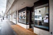 Optiker Thiele an der Alleestrasse in Romanshorn schliesst sein Geschäft. (Bild: Andrea Stalder)