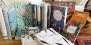 Der Büchertisch von Eliane Latzel. (Bild: PD)