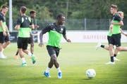 Im Sommer stiess Kekuta Manneh zum FC St.Gallen. (Bild: Ralph Ribi)