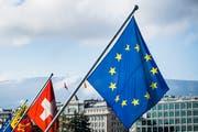 Das Verhältnis zwischen der Schweiz und der EU muss neu definiert werden. (Bild: Keystone)