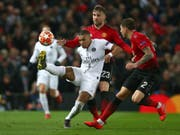 Kylian Mbappe und die Pariser stellen Manchester United vor unlösbare Probleme (Bild: KEYSTONE/AP/DAVE THOMPSON)