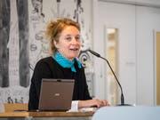 Drei Jahre hat Dorothe Zürcher an ihrem ersten historischen Roman gearbeitet. (Bild: Hanspeter Schiess)