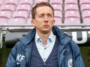 Seine Zeit in Wil ist bald abgelaufen: Trainer Konrad Fünfstück (Bild: KEYSTONE/SALVATORE DI NOLFI)