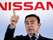Die Untreuevorwürfe gegen den inhaftierten ehemaligen Verwaltungsratschef Carlos Ghosn schlagen bei Nissan mit über 80 Millionen Franken zu Buche. (Bild: KEYSTONE/AP/KOJI SASAHARA)