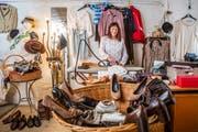 Trudi Ottiger, Inhaberin des Secondhand-Ladens «La Robe.» Das Geschäft in der Oberaltstadt in Zug schliesst nach 34 Jahren Ende Februar 2019. (Patrick Hürlimann (Zug, 9. Februar 2019))