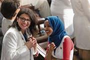 Rashida Tlaib (links) und Ilhan Omar sorgen im Washingtoner Politbetrieb für Kontroversen. (Bild: Cheriss May/NurPhoto; 5. Februar 2019)