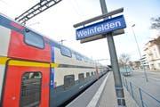Die heutigen Fernverkehrszüge sind für das Flügeln und Vereinigen nicht gerüstet. Hier ein Schnellzug am Bahnhof Weinfelden. (Bild: Donato Caspari)