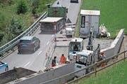 Der Ausbau der Bürgenstockstrasse kommt unter dem Strich 300'000 Franken teurer. (Bild: Corinne Glanzmann (Obbürgen, 19. Juli 2017))