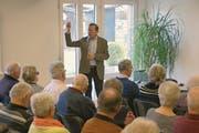 Der frühere Spitzenpolitiker Franz Steinegger sprach zum Thema «Im Alter neuen Sinn finden».