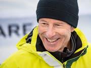 Die schwedische Ski-Legende Ingemar Stenmark (Bild: KEYSTONE/JEAN-CHRISTOPHE BOTT)