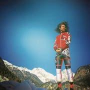 Slalomtore statt Rugby: Kasete Naufahu Skeen aus Tonga. Bild: PD