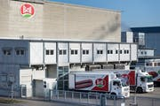 Die Basler Bell Food Group spürt den sinkenden Fleischkonsum. )Bild: Georgios Kefalas/Keystone 13. Februar 2019)