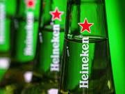 Heineken lässt Anleger an sprudelnden Gewinnen teilhaben. (Bild: KEYSTONE/AP/J. DAVID AKE)
