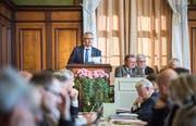 GLP-Kantonsrat Ueli Fisch ist Präsident des Initiativkomitees. (Bild: Andrea Stalder)
