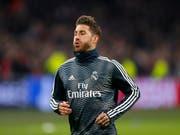 Nach Absichts-Geständnis: Sergio Ramos blüht ein juristisches Nachspiel (Bild: KEYSTONE/AP/PETER DEJONG)