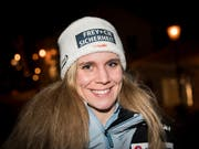 Gab nie auf: die Nidwaldnerin Andrea Ellenberger (Bild: KEYSTONE/JEAN-CHRISTOPHE BOTT)