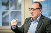 Werner Minder ist seit 1. Juni 2018 Gemeindepräsident von Hohentannen. (Bild: Reto Martin)