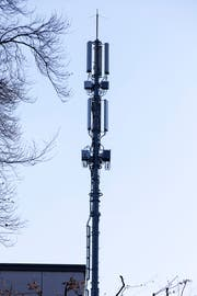 Anwohner kämpfen gegen eine geplante fünfeinhalb Meter hohe Mobilfunkantenne auf einem Hausdach.(Bild: Rudolf Hirtl)