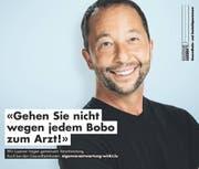 DJ Bobo gibt für die kantonale Kostensenk-Kampagne Namen und Gesicht her. (Bild: PD)