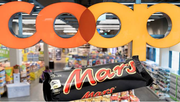 Ab sofort wieder im Coop-Sortiment: Mars-Schokoriegel. (Bild: Keystone/Montage)