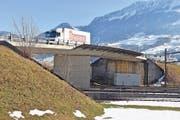 Die Tage dieses Viadukts in Ingenbohl sind gezählt. (Bild: Josias Clavadetscher)