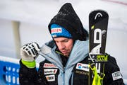 Enttäuschter Beat Feuz nach Platz 4 in der Abfahrt. (Bild: Jean-Christophe Bott/Keystone, Åre, 9. Februar 2019)