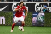 Roy Gelmi spielt jetzt für Thun, den Gegner des FCSG. (Bild: Urs Lindt)