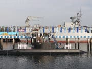 Das neue iranische U-Boot ist auch mit Marschflugkörpern ausgerüstet. (Bild: KEYSTONE/EPA PRESIDENTIAL OFFICE/PRESIDENTIAL OFFICE HANDOUT)