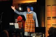Auch «D Weschwyyber» hatten am Samstag einen grossen Auftritt. (Bild: Urs Hanhart, Altdorf, 16. Februar 2019)
