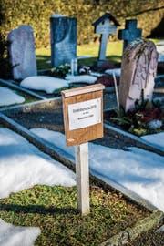 Im März werden über 50 Grabfelder und Urnennischen in Wittenbach geräumt. (Bild: Urs Bucher)