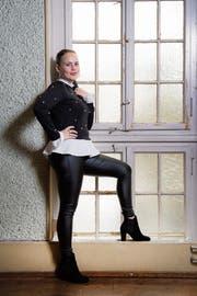 Neben ihrem Engagement am Stadttheater widmet sich Tatjana Schneider eigenen Projekten. (Bild: Urs Bucher)