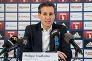 Hält an Remo Meyer fest: FCL-Präsident Philipp Studhalter (Bild: Nadia Schärli)